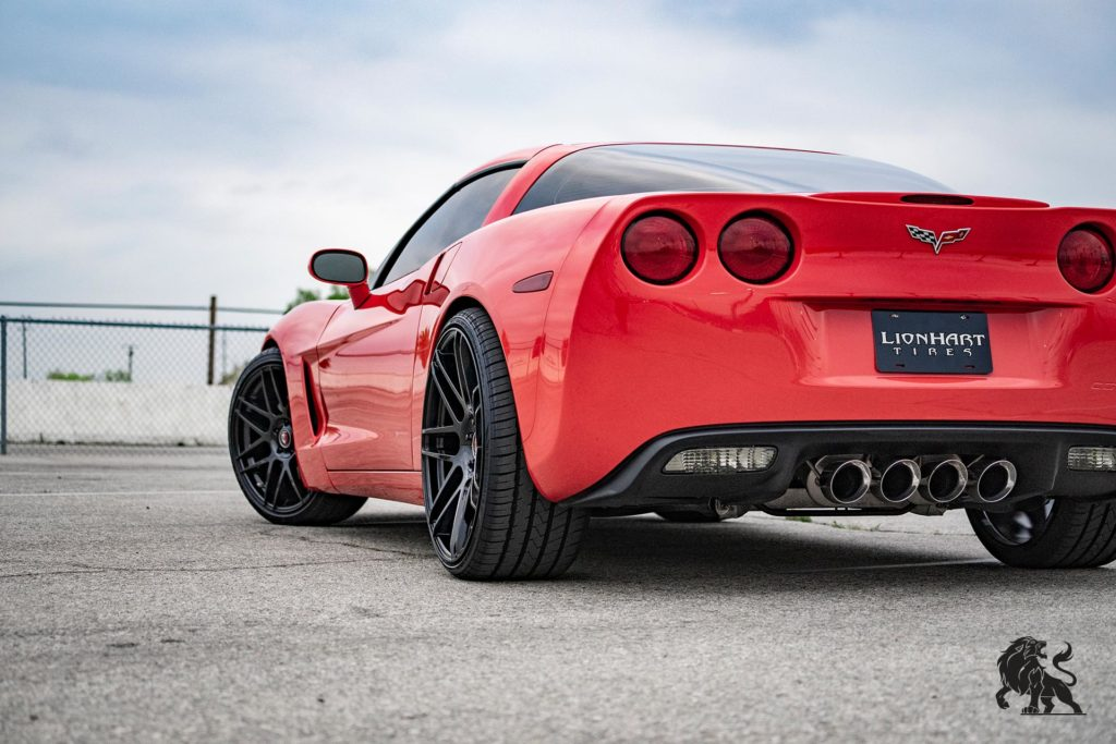 LH-Five Red Corvette