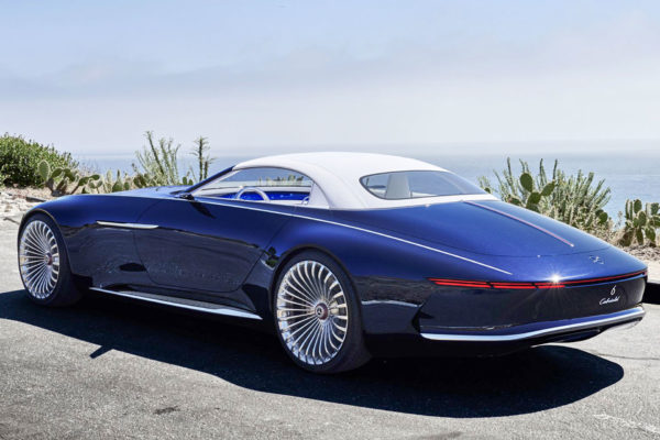 Mercedes Maybach Cabriolet 6 on LH-Five Tires