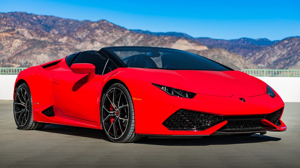 Lionhart Tires LH-Five Red Lamborghini Huracan