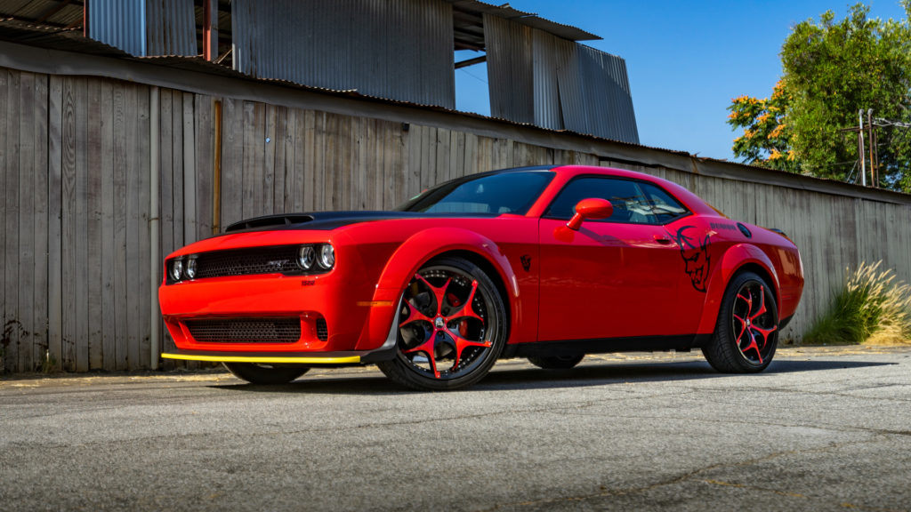 Lionhart LH-Ten Tires Dodge Demon