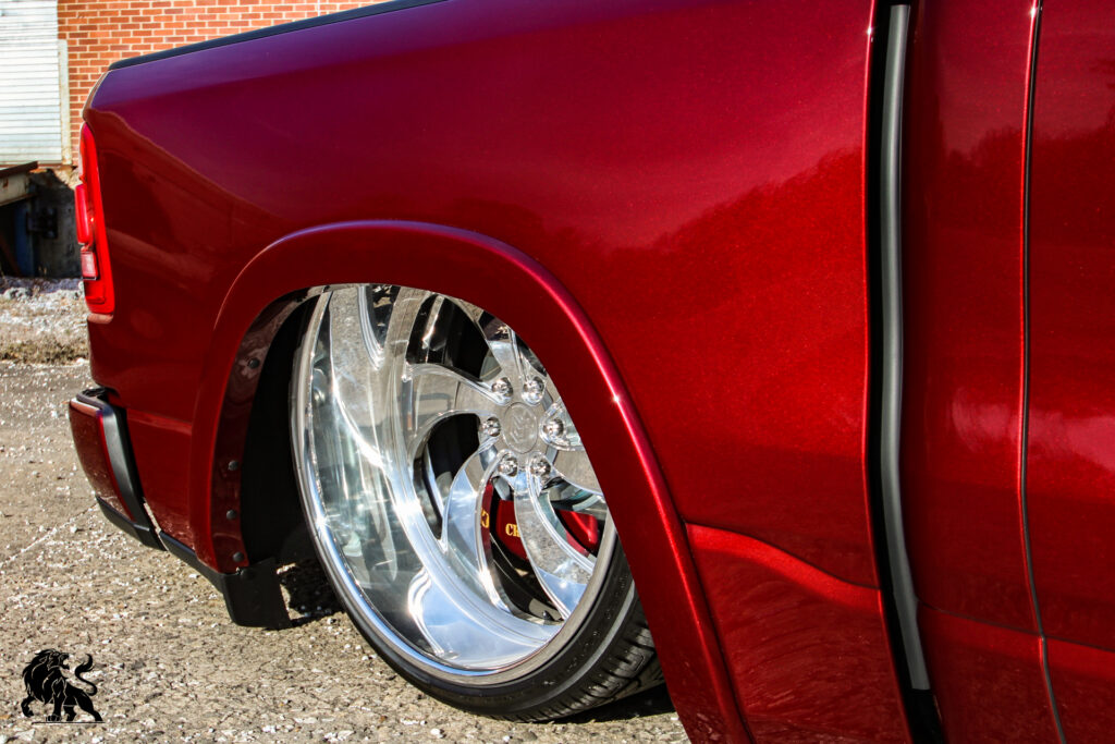 Lionhart LH-Ten Tires Bagged RAM 1500 SEMA Truck