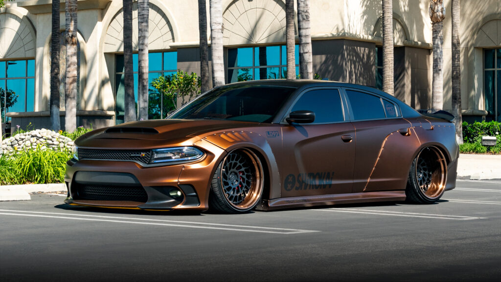 Lionhart LH-Five LH-Ten Tires Widebody Dodge Charger Scat Pack